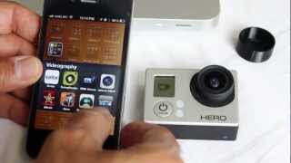 gopro hero3 wifi connectivity with iphone and android google nexus setup