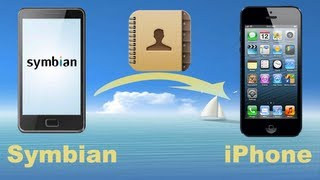 Nokia to iPhone: How to Copy Contacts from Nokia Symbian Phone to iPhone 5C/5/S/4S directly?