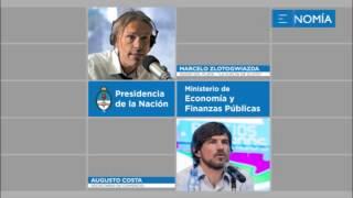 Augusto Costa entrevistado por Marcelo Zlotogwiazda - Radio Del Plata