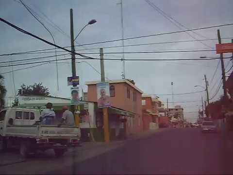 Recorrido por calles La Romana, Pedro A. LLuberes,...