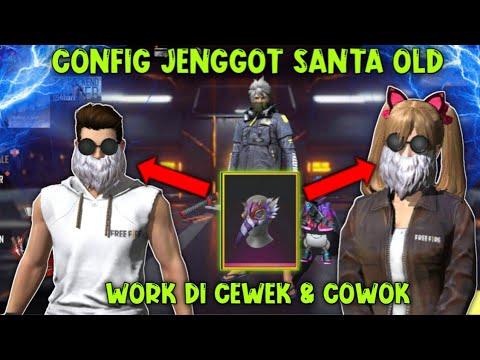 Jenggot Ff Old Png Download Config Mentahan Jenggot Santa Old Ff