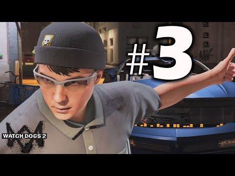 Watch Dogs 2 Gameplay Walkthrough Part 3- Cyber Driver!