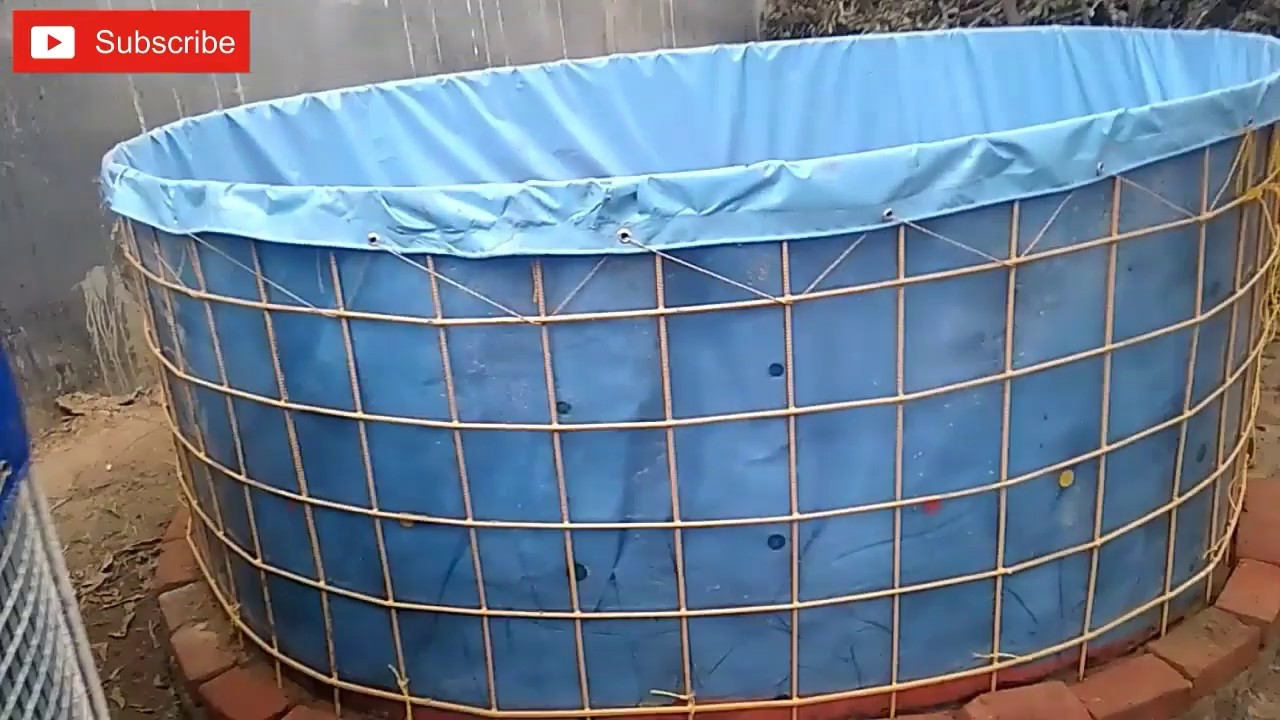 BioFloc Tank Installation and Materials