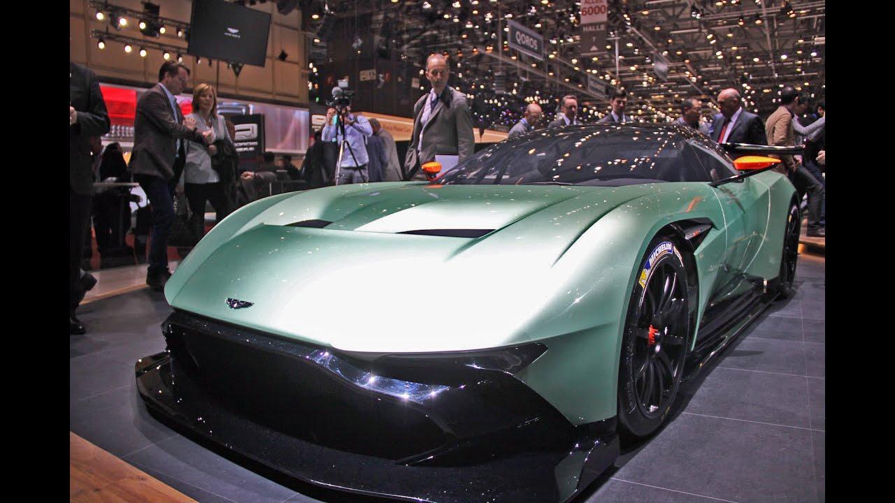 Aston Martin Vulcan 2015 Geneva Motor Show Youtube