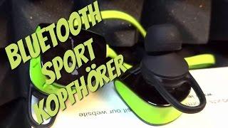 IN EAR BLUETOOTH SPORT KOPFHöRER von EC Technology im Test + Unboxing