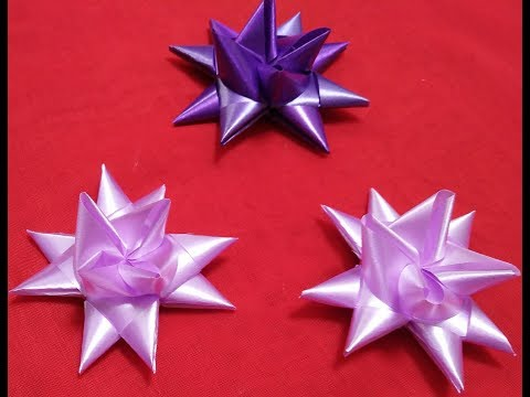Membuat Pita Hias Bentuk Bintang By Bella Production