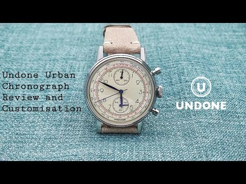 Undone Urban Chronograph Review: A Hugely Configurable Timepiece