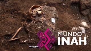 Mundo INAH 101, 19 junio 2015. Entierro colonial en Querétaro