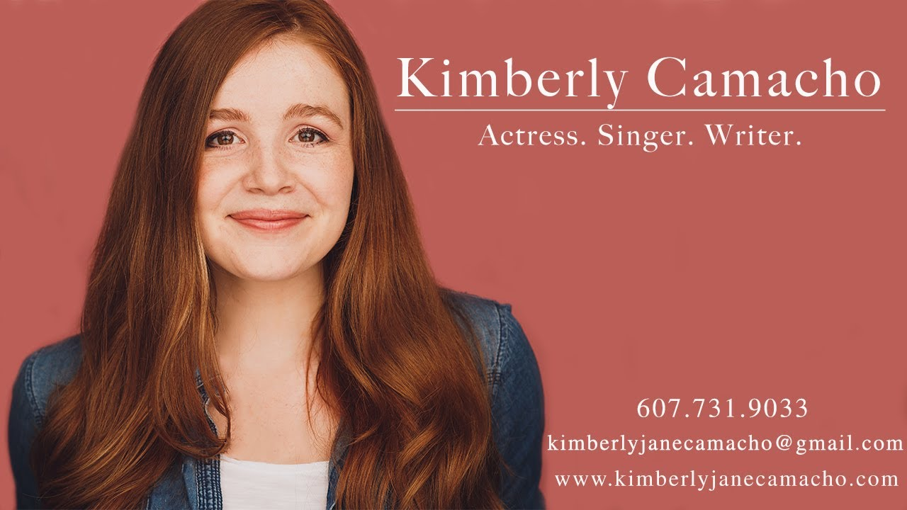 Kimberly Camacho Musical Theatre Reel