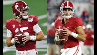 Bryce Young and Paul Tyson to lead Alabama quarterback room in 2021 | CFB News | Crimson Tide