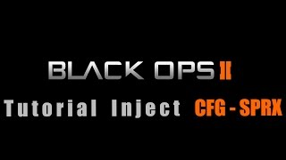 Black Ops 2 CFG - SPRX (1.19) tutorial (PS3/CEX-DEX) *UPDATE*