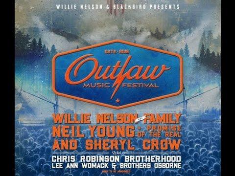 Outlaw Music Festival - Sept 18, 2016