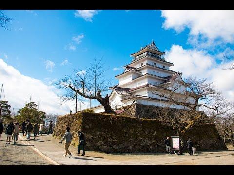 ปราสาท Tsuruga Castle เมืองไอสึ วากามัตสึ Fukushima (Facebook Live)