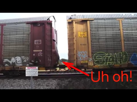 CSX train goes into emergency!! (12/20/16)