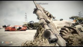 Bad Company 2 All Weapons Gameplay