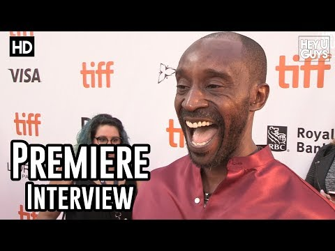 Rob Morgan  Mudbound Premiere   TIFF17