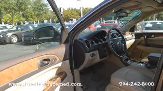 Autoline Preowned 2009 Buick Enclave CXL For Sale Used Walk Around Review Test Drive Jacksonville