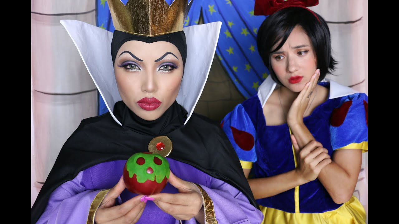 Snow white evil queen makeup tutorial youtube baditri Choice Image