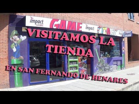 Visitando la nueva Tienda de Impact Game en San Fernando de Henares Madrid