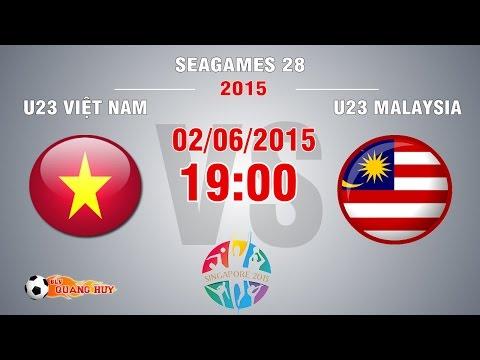 U23 Việt Nam vs U23 Malaysia - SEA Games 28 | FULL