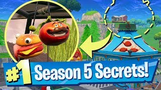 10 SECRETS, TIPS + EASTER EGGS IN SEASON 5 - Fortnite Battle Royale