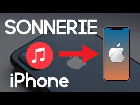 Mettre Une Musique En Sonnerie Sur Un IPhone 6/7/8/X Sans ITunes   TUTO