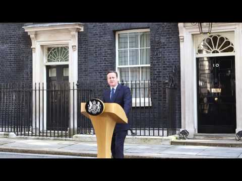 EU referendum outcome: PM statement, 24 June 2016