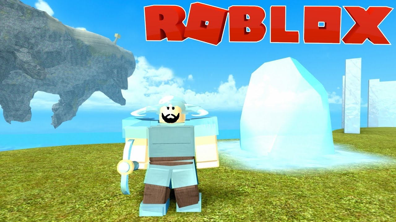 Full Crystal Armor Crossbow Roblox Booga Booga Youtube