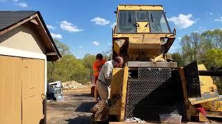 Пытаемся запустить трактор. Стоило ли его брать? CAT 963 серия 1