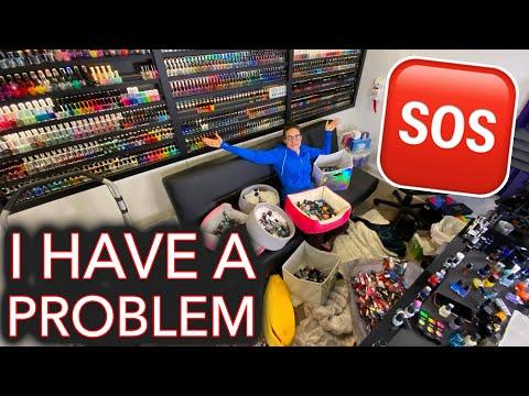 Re-organizing my 2,000+ Nail Polishes AGAIN
