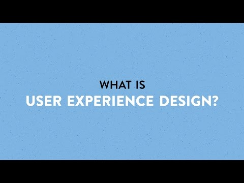 What is User Experience Design?