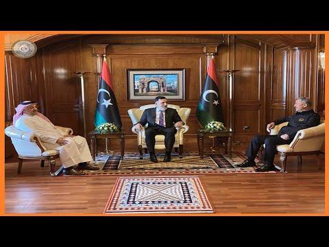 🇱🇾 🇹🇷 🇶🇦 Libya:Turkish, Qatari defence ministers in Tripoli
