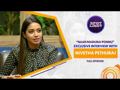 Spotlight | Exclusive Interview With Nivetha Pethuraj | VJ Abhishek | Sun Music