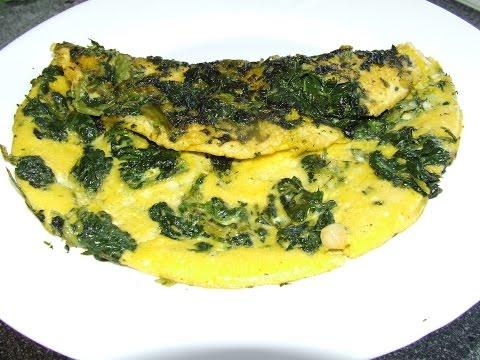 Вегетарианский (постный) овощной омлет без яиц, фото-рецепт