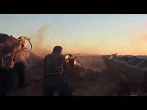 Syria War - Syrian Army pushes IS Jihadists back in Homs Governorate