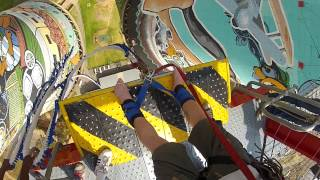 orlando towers 100m bungee jump goprohd