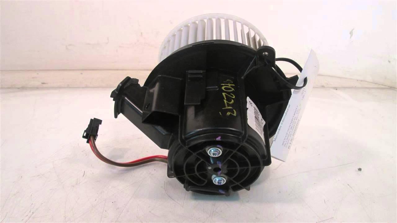 2011 mercedes c300 air c300 blower motor for Mercedes benz fans