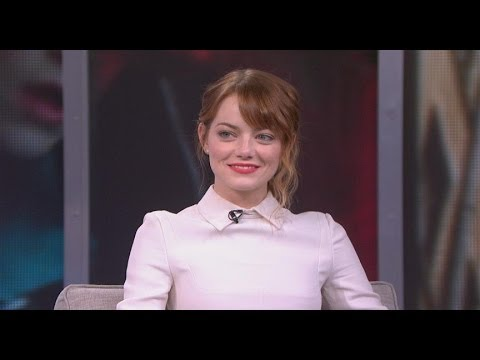 Emma Stone on Boyfriend Andrew Garfield: 'I Love Him Very Much'