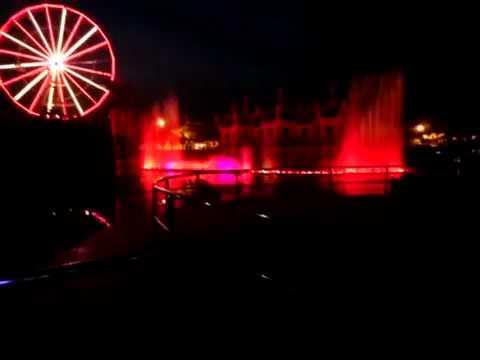 BLUE WORLD  KANPUR musical fountain show