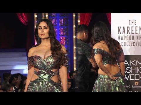Kareena Kapoor Khan Stunning  Ramp Walk Lakme Fashion Week