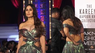 Kareena Kapoor Khan stunning  Ramp Walk Lakme Fashion Week