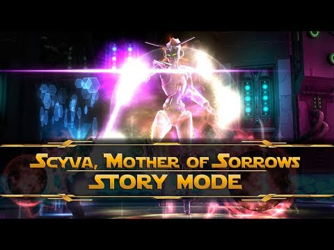 SWTOR - Gods from the Machine - Scyva [Sith Marauder - Story 8man]