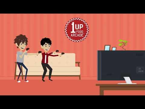 1UP Food Arcade™ & Magic Mini Jacks™ Intro from 1UP Food Arcade