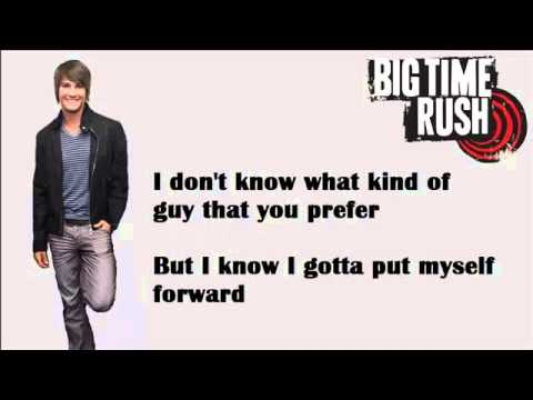 Boyfriend - Big Time Rush Lyrics