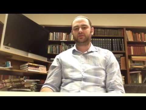 Etz Chayim Toledo - Pirkei Avos Video #17
