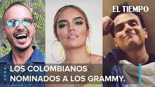 J Balvin y los otros colombianos nominados a los Premios Grammy Latinos l EL TIEMPO