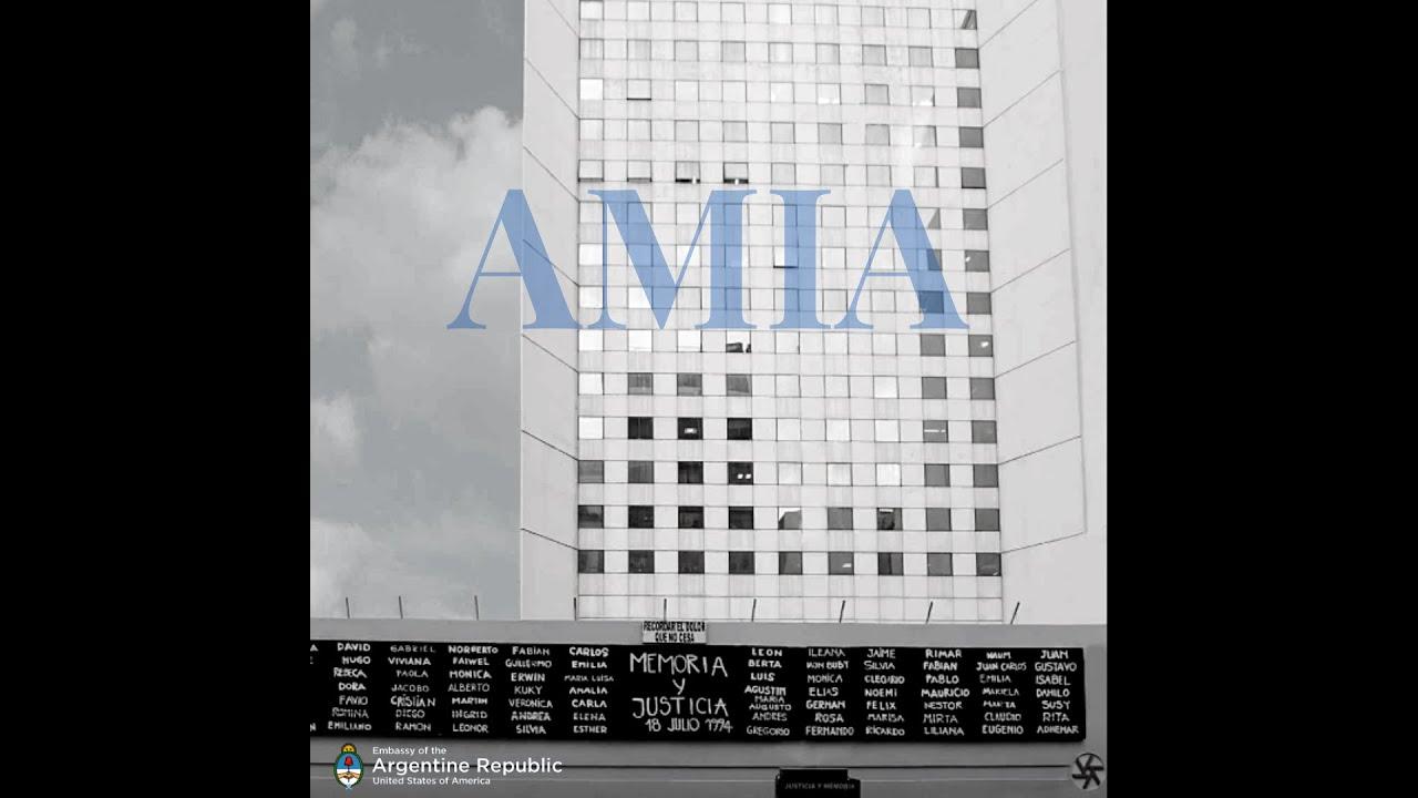 Video: Recordación y Homenaje AMIA - 26° Aniversario