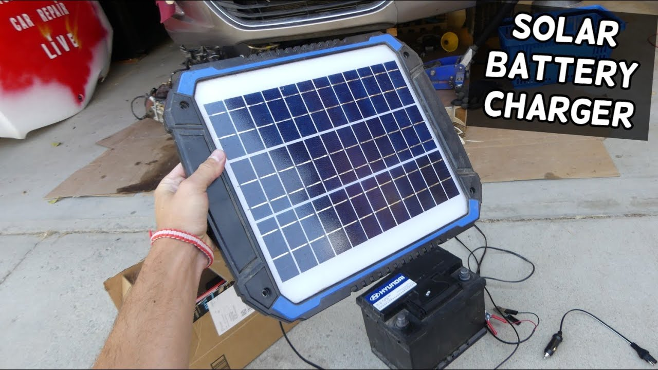 SUNER POWER SOLAR BATTERY CHARGER MAINTAINER 12 VOLT REVIEW