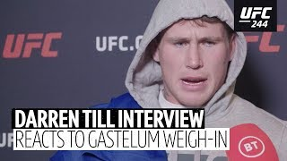 Darren Till's classy response to Kelvin Gastelum touching his coach on the scales | UFC 244