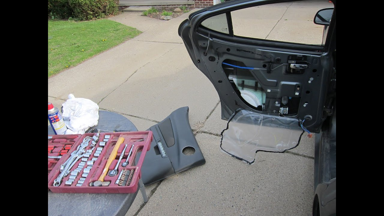 medium resolution of how to remove a car door panel